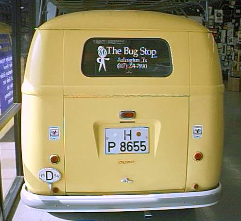 Vw Bus Terms And Defintions