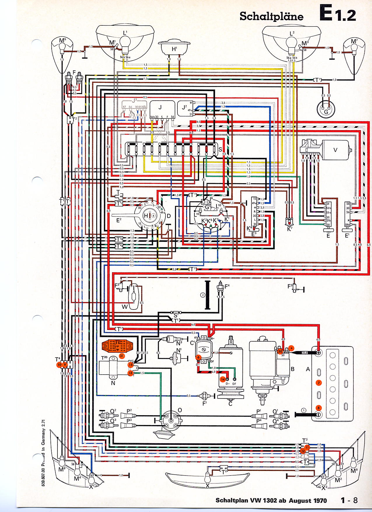 1974 VW Super Beetle Wiring Diagram also 73 VW Beetle Ignition Switch Wiring Diagram besides 1974 VW Super Beetle Wiring Diagram moreover 73 VW Beetle Wiring Diagram as well VW Beetle Wiring Diagram. on super beetle ke diagram