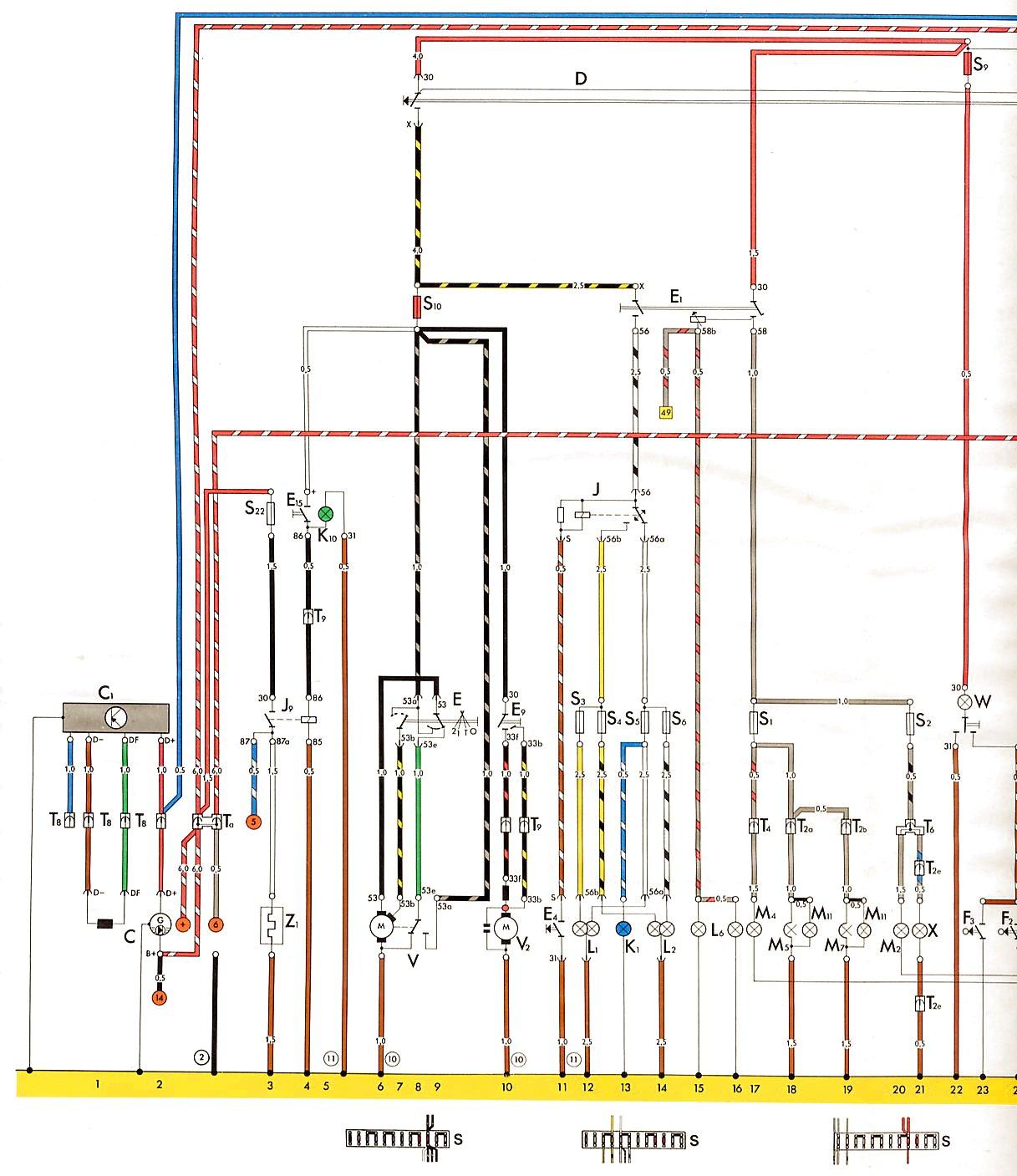 75 beetle wiring diagram shoptalkforums com rh shoptalkforums com 1973 VW  Wiring Diagram Super Beetle Wiring Diagram