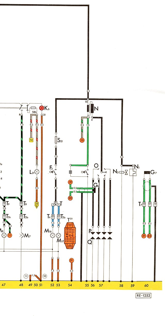 It Also Shows An Externallyregulated Alternator And The Seatbelt Interlock System Unique To 74 But Is Otherwise Accurate For A 75: 75 Beetle Wiring Diagram At Satuska.co
