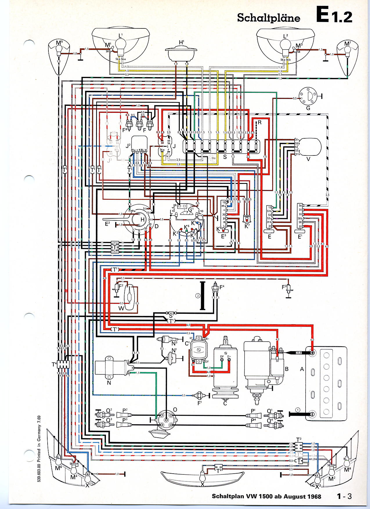 vw beetle fuse diagram image wiring diagram 1969 vw bug wiring diagram images on 1969 vw beetle fuse diagram