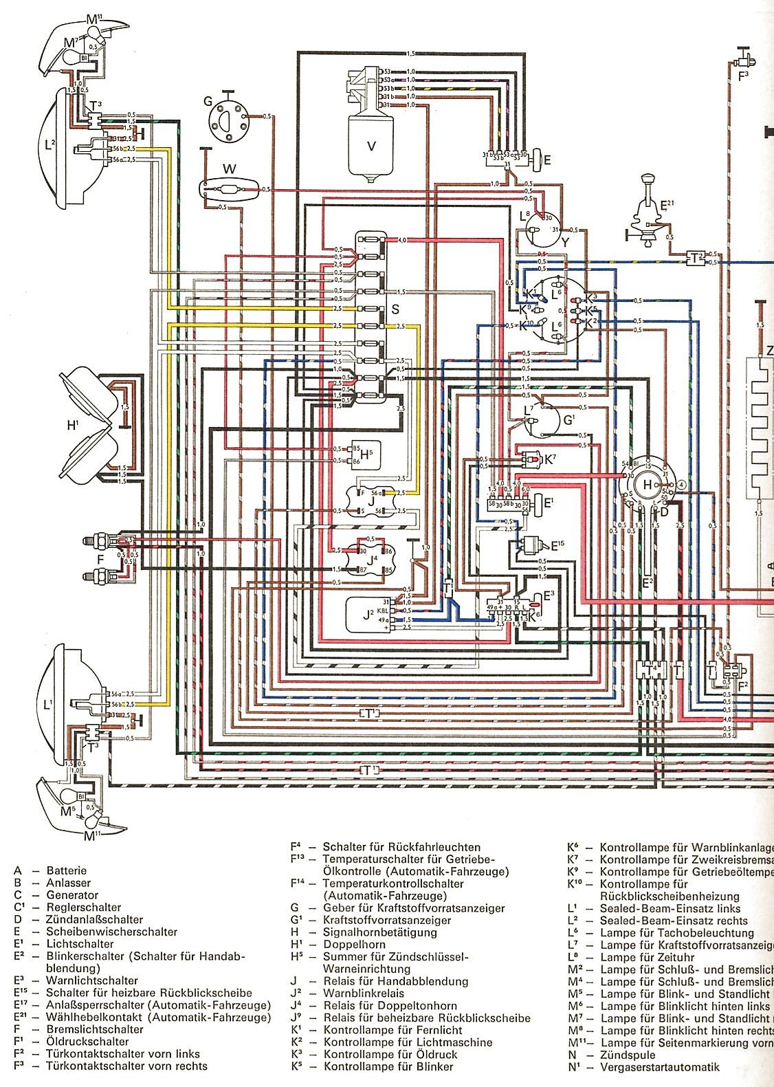 1969 Dodge Charger Fuse Box Diagram