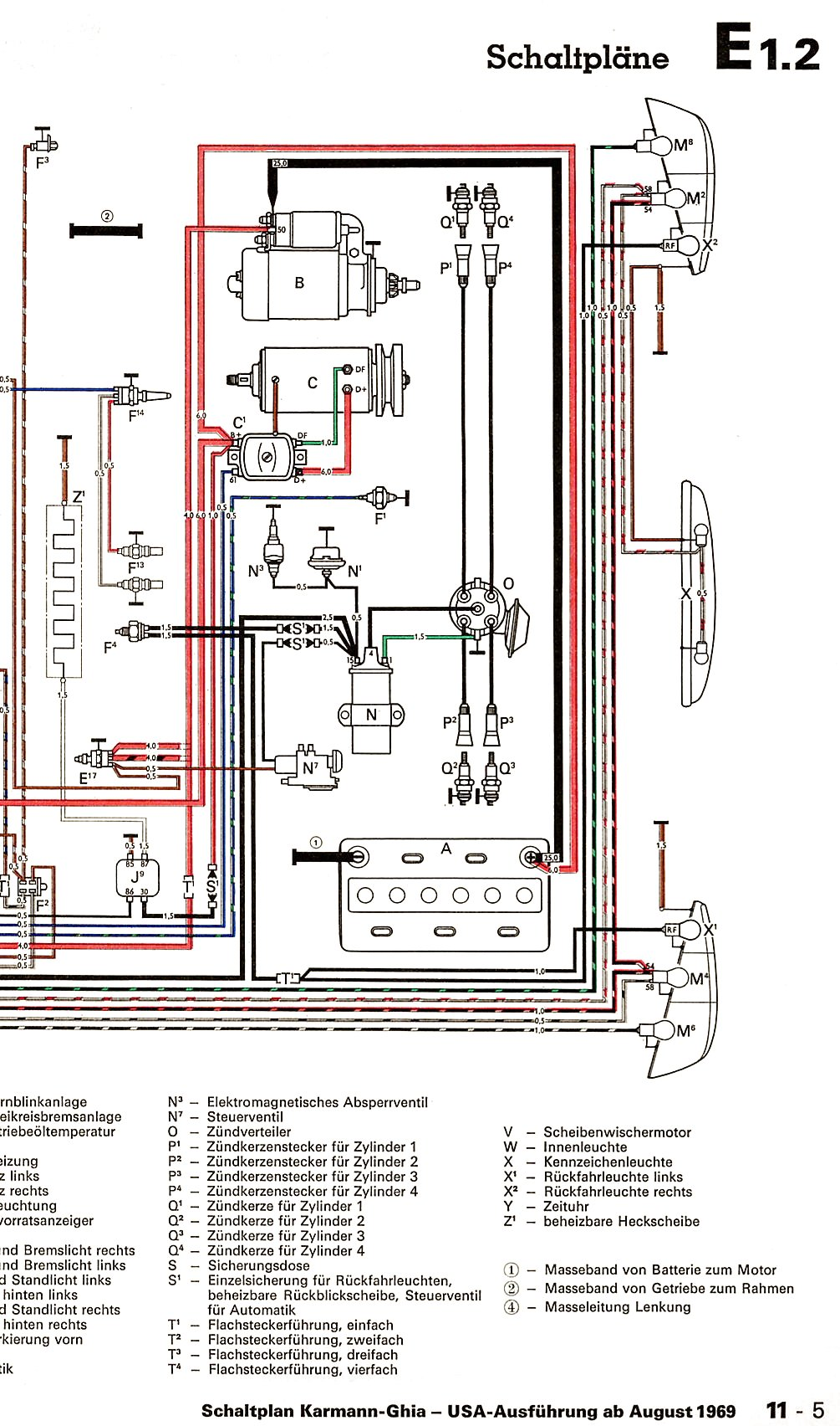 Karmann_Ghia_USA_from_August_1969 2 brakelight problems shoptalkforums com fiat x19 wiring diagram at eliteediting.co