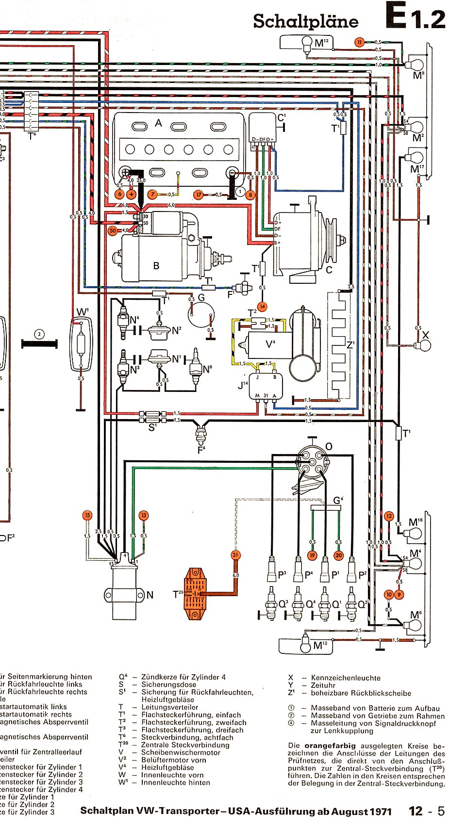 Transporter Usa From August on vw alternator voltage regulator wiring diagram