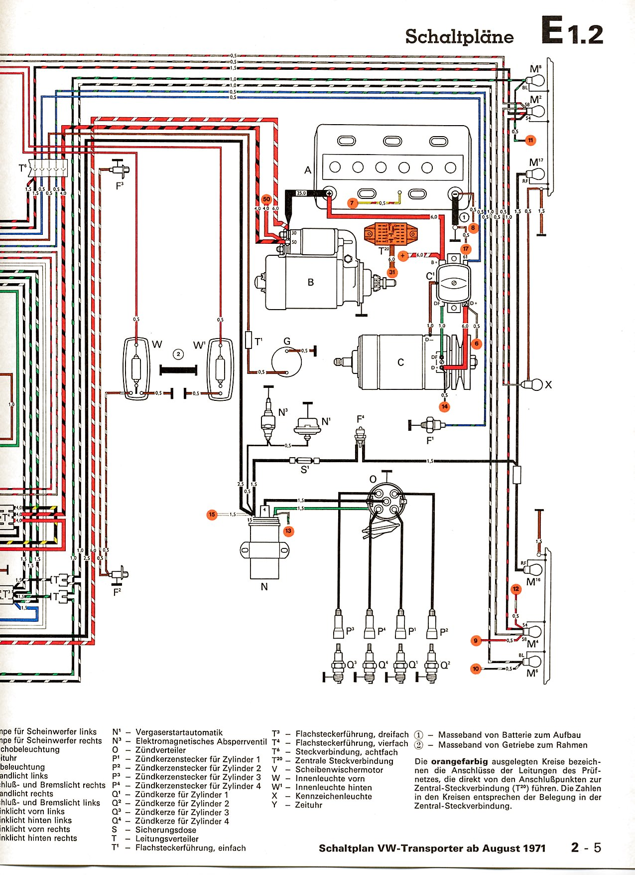 Vw Bus Schematic | Wiring Diagram Wiring Diagram Vw Type on