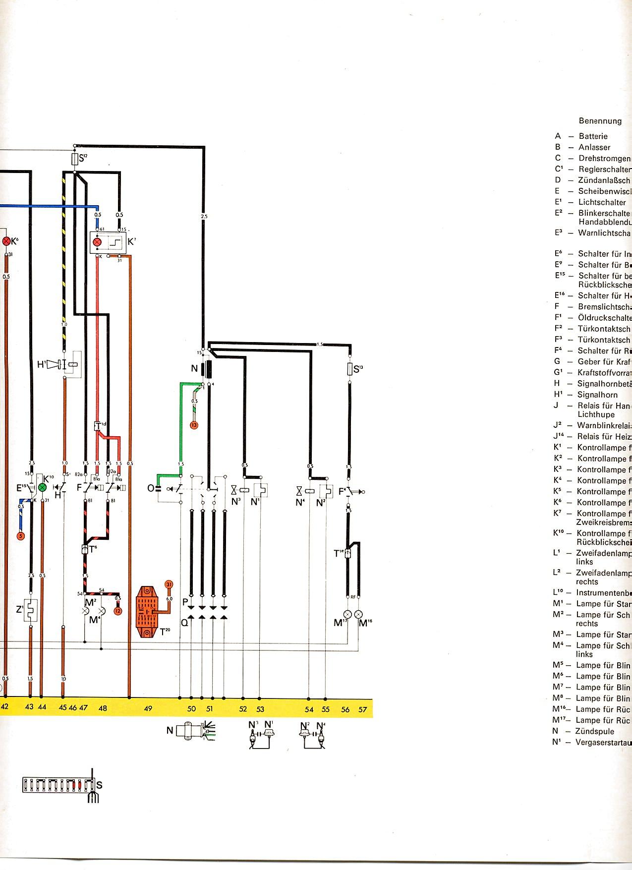 Tolle 72 Vw Schaltplan Fotos - Elektrische Schaltplan-Ideen ...