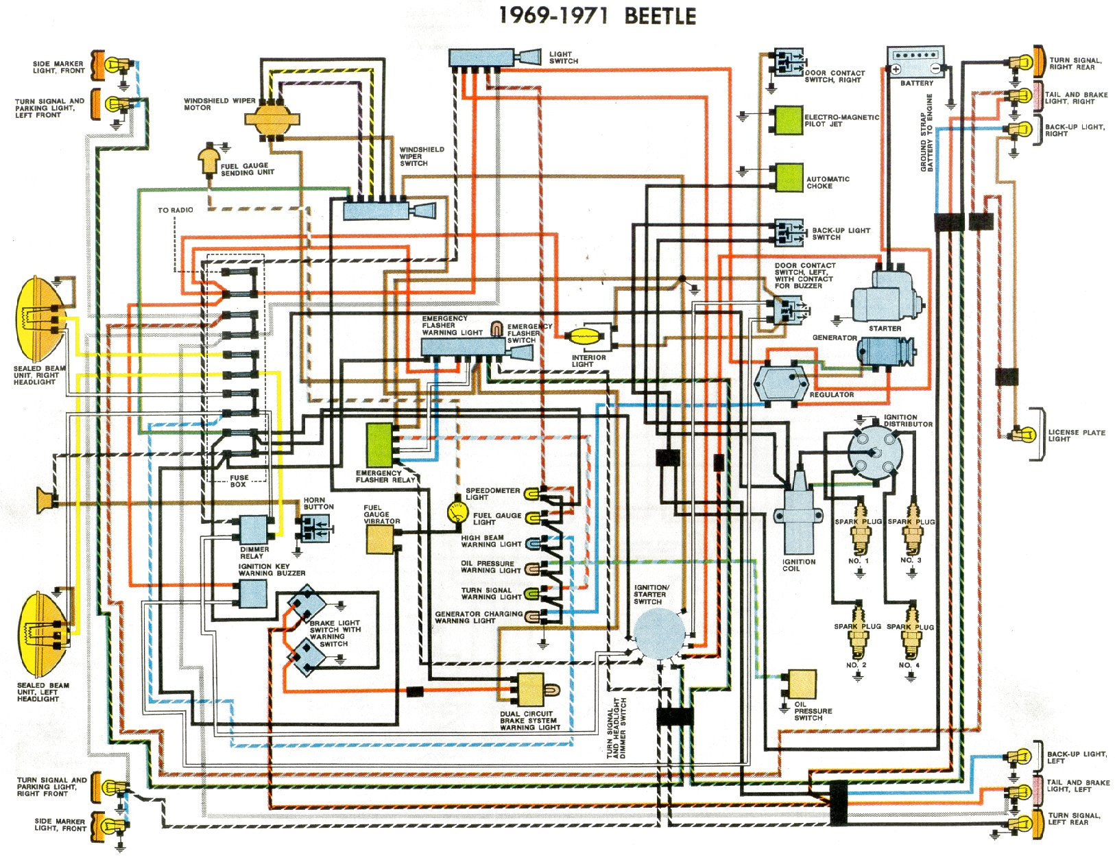 bug 69+71 vw bug fuel gauge schematic library of wiring diagrams \u2022