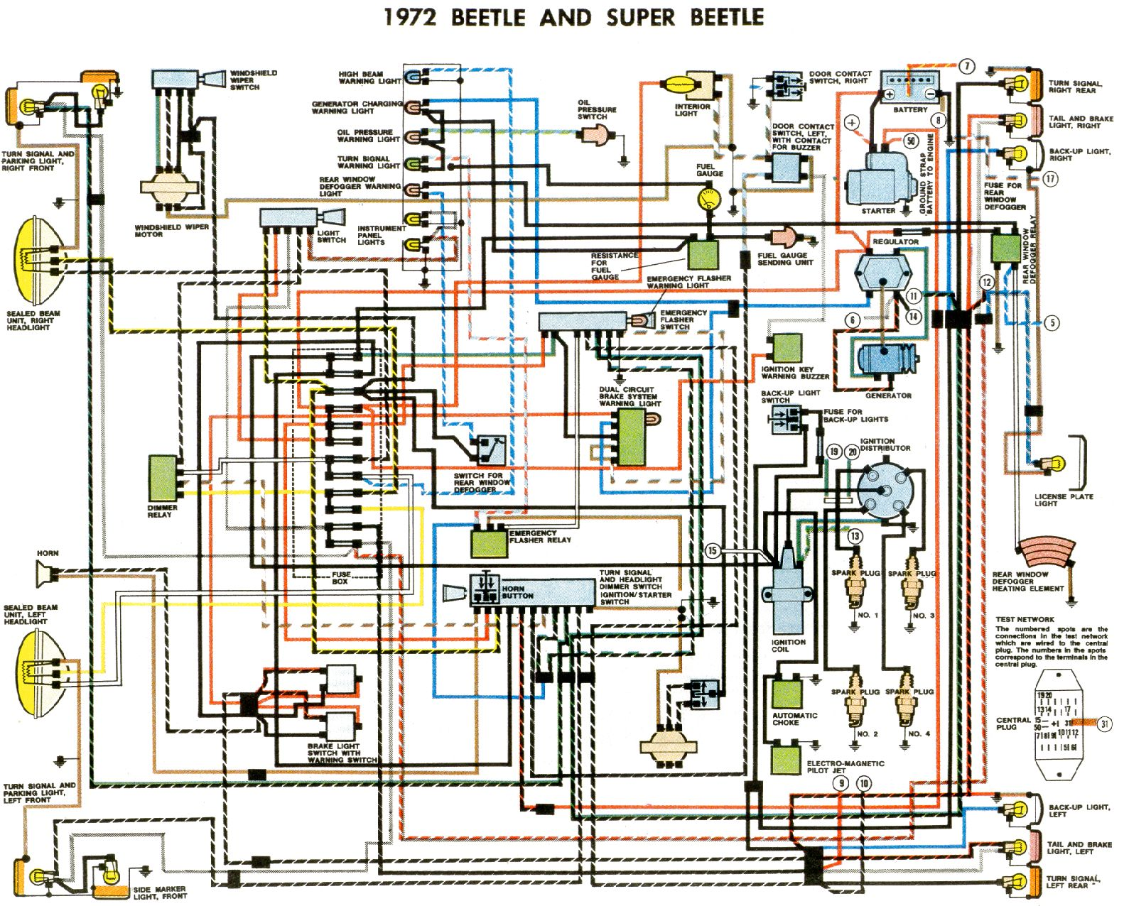 Wiring Diagram Jetta Cli 24 Images Bug 72 Vwvortex Com 1972 Super Fuel Guage Issues Mk3 At Highcare