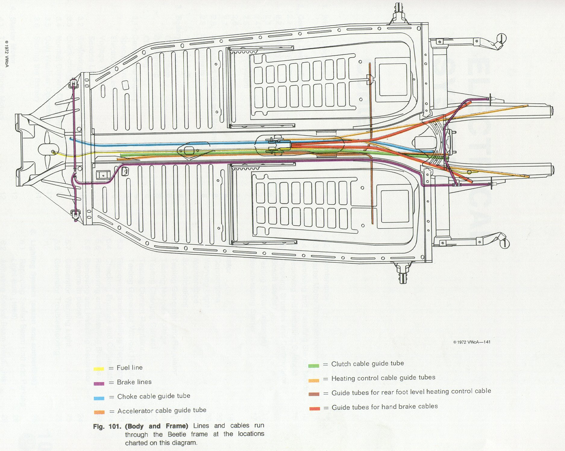 Chassis on Vw Beetle Wiring Diagram 1962